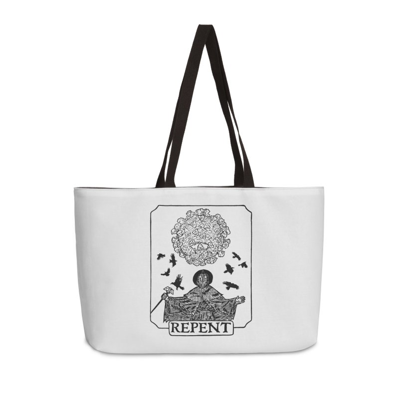 Repent Accessories Weekender Bag Bag by The Corey Press