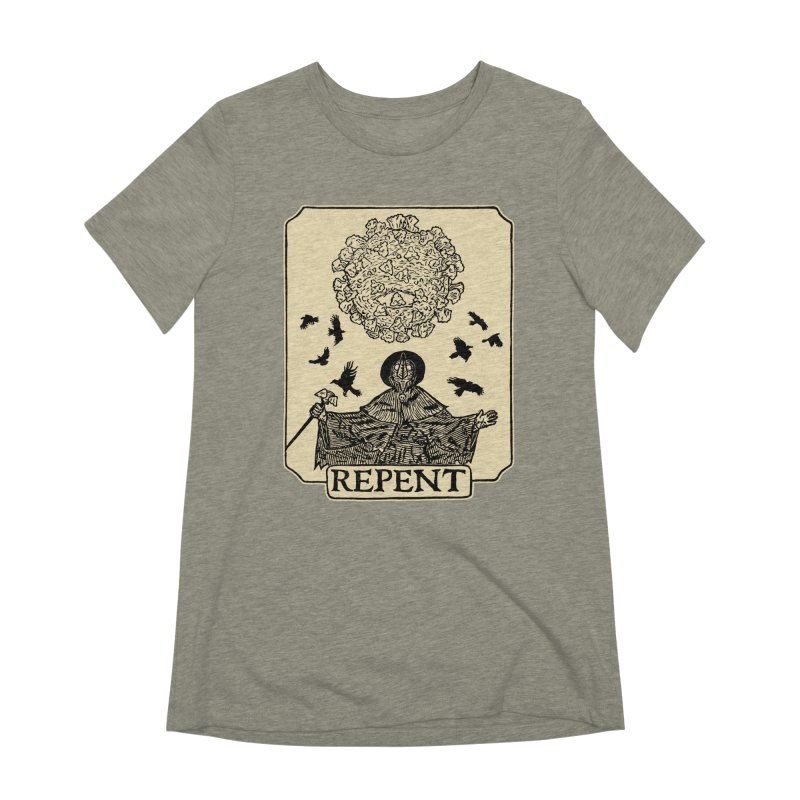 Repent Women's Extra Soft T-Shirt by The Corey Press