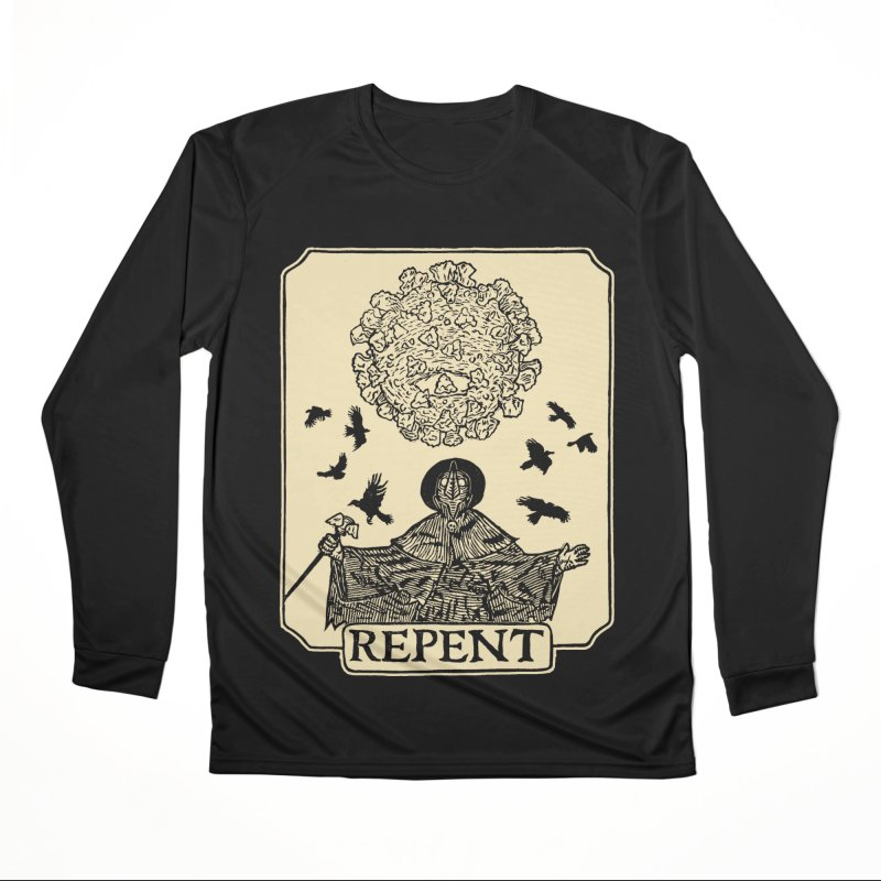 Repent Women's Performance Unisex Longsleeve T-Shirt by The Corey Press