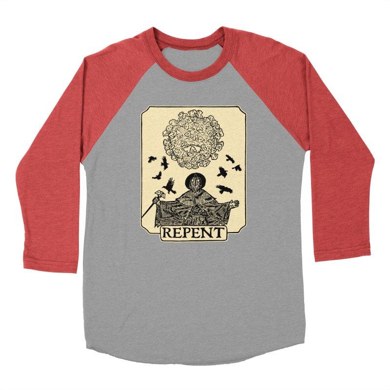 Repent Men's Longsleeve T-Shirt by The Corey Press