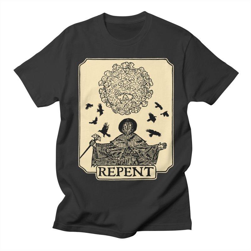 Repent Women's Regular Unisex T-Shirt by The Corey Press