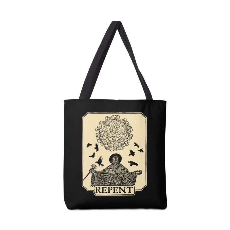 Repent Accessories Tote Bag Bag by The Corey Press