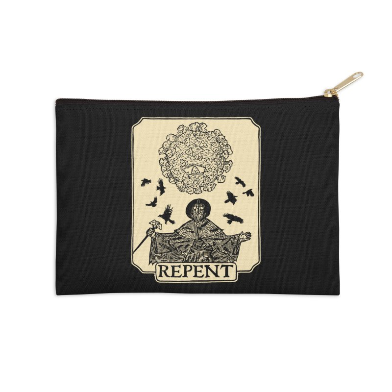 Repent Accessories Zip Pouch by The Corey Press