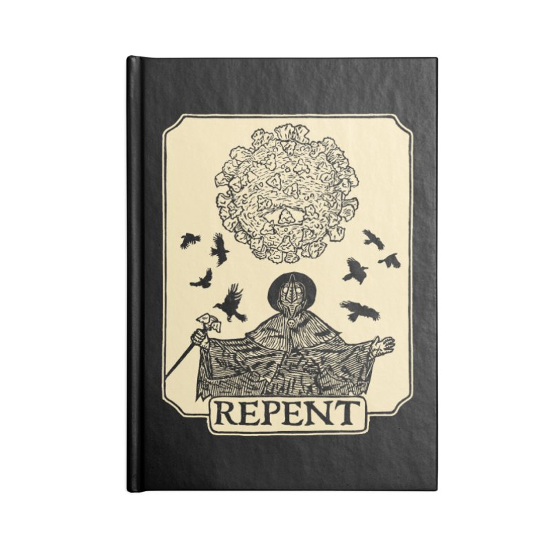 Repent Accessories Notebook by The Corey Press