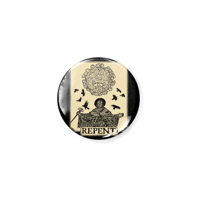 Repent Accessories Button by The Corey Press