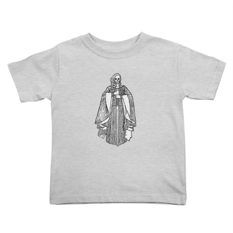 The Grim Lady Kids Toddler T-Shirt by The Corey Press