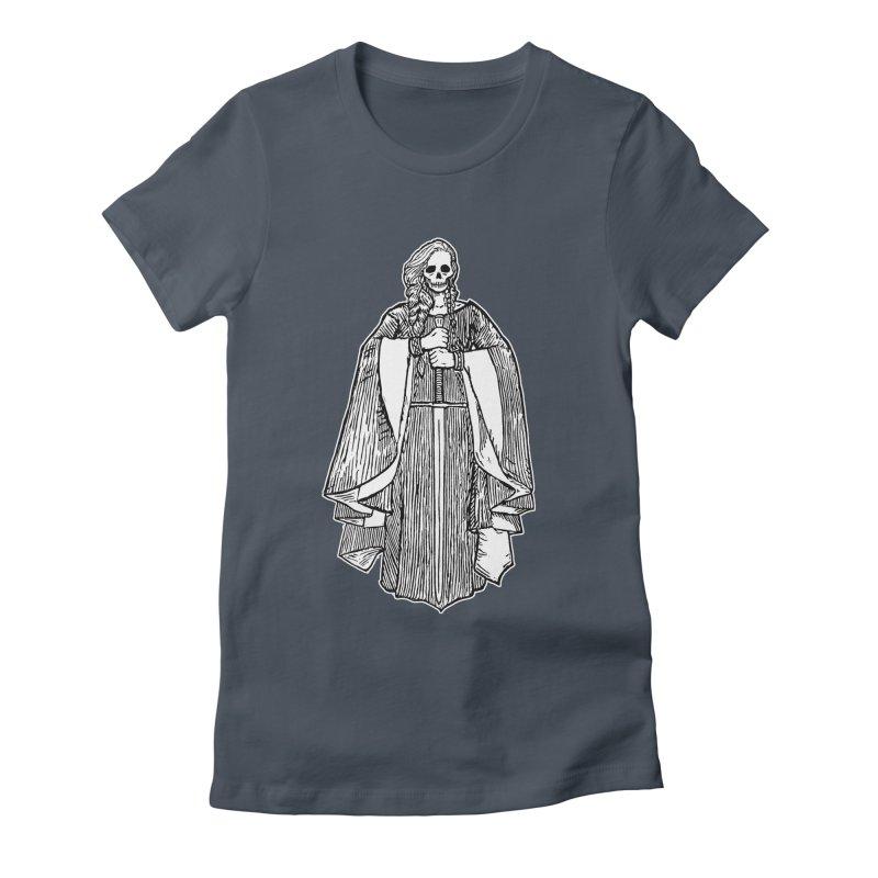 The Grim Lady Women's T-Shirt by The Corey Press