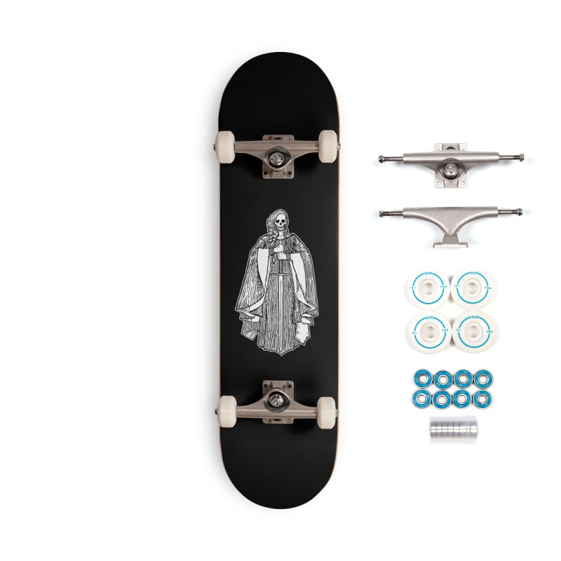 The Grim Lady Accessories Complete - Basic Skateboard by The Corey Press