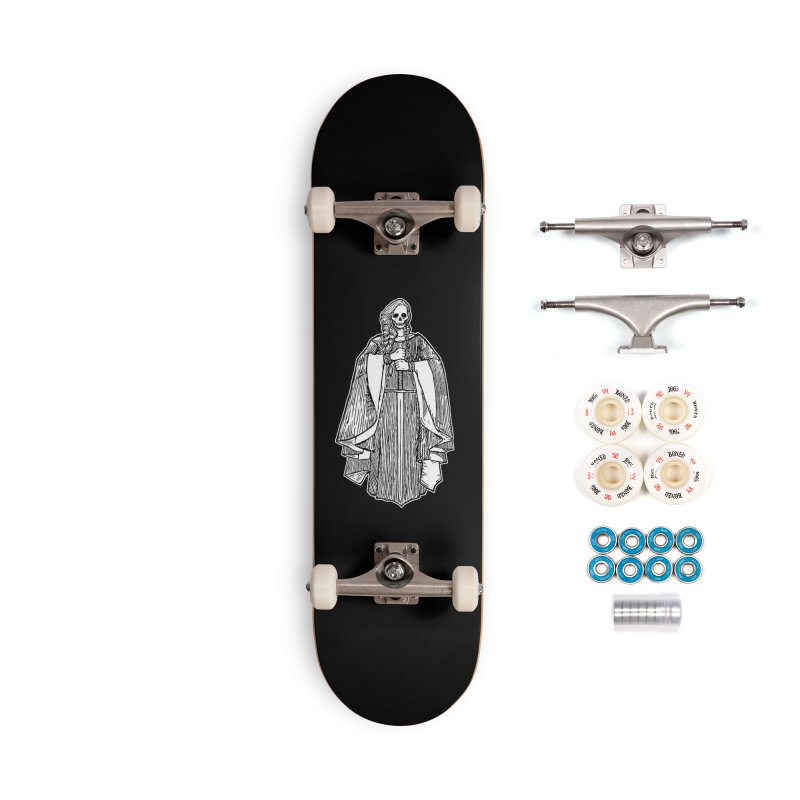 The Grim Lady Accessories Complete - Premium Skateboard by The Corey Press