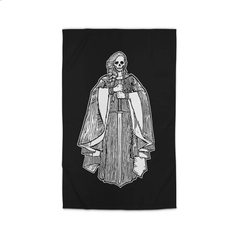 The Grim Lady Home Rug by The Corey Press