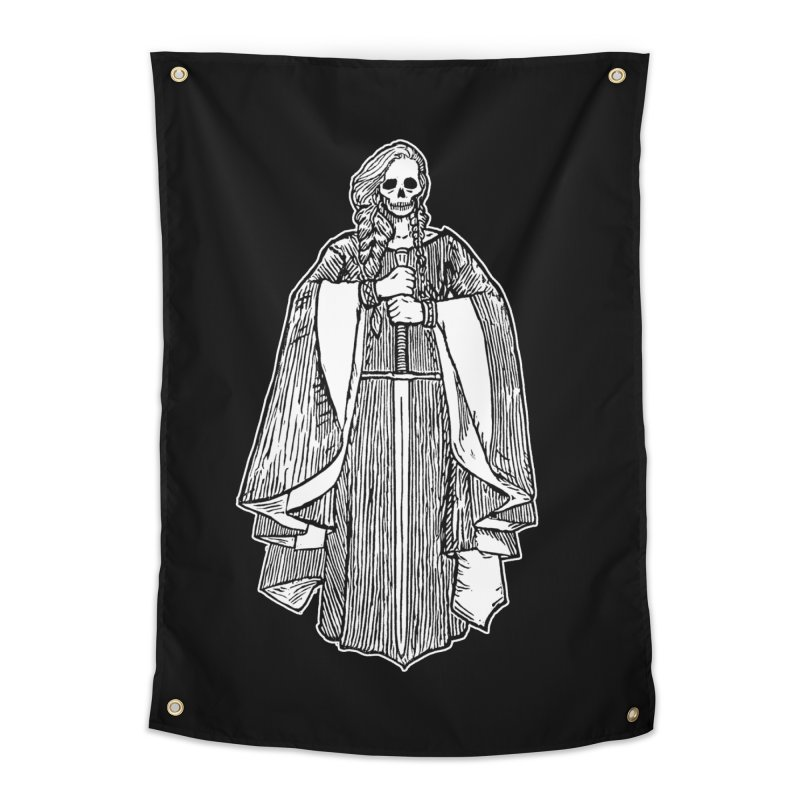 The Grim Lady Home Tapestry by The Corey Press
