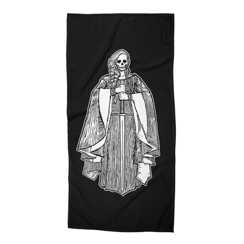 The Grim Lady Accessories Beach Towel by The Corey Press