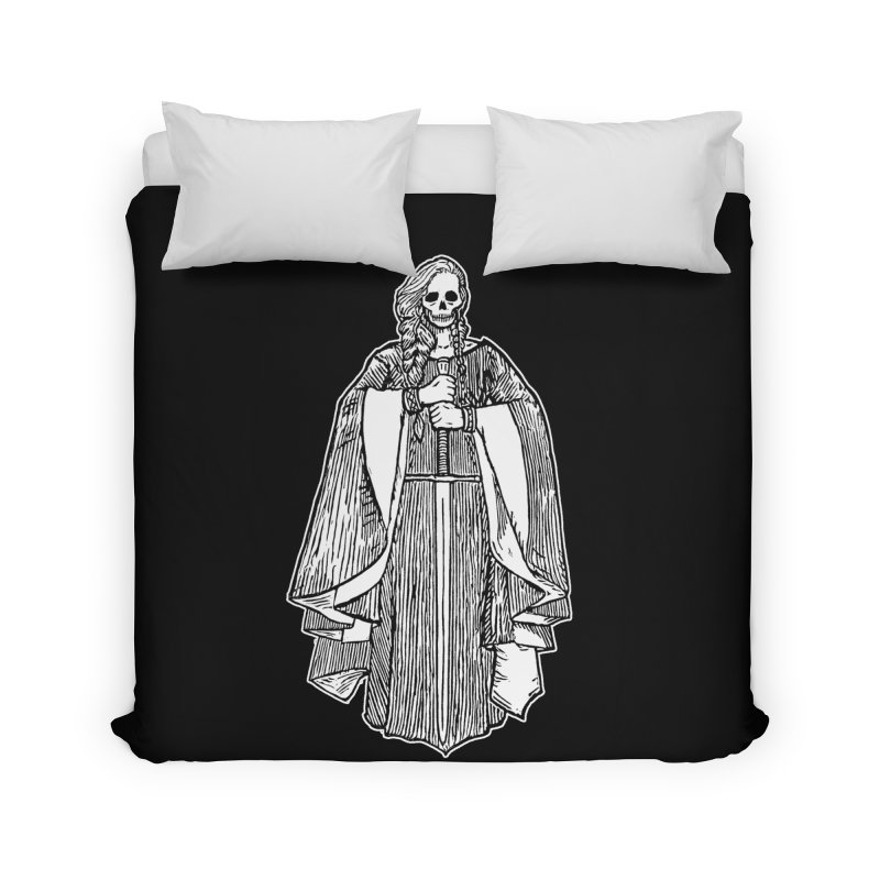 The Grim Lady Home Duvet by The Corey Press
