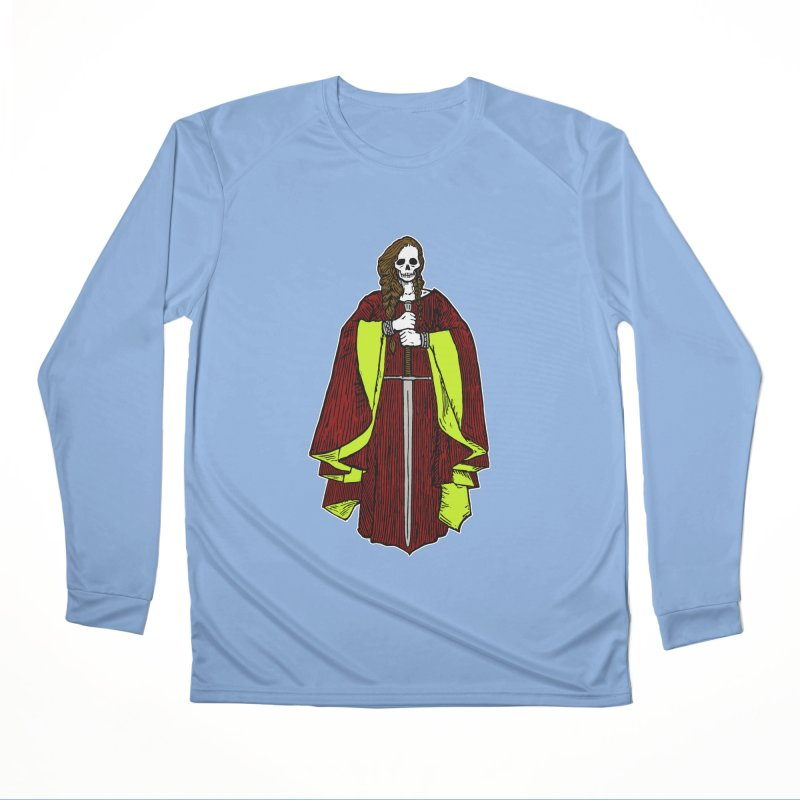 The Grim Lady Men's Longsleeve T-Shirt by The Corey Press