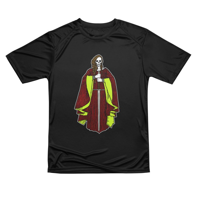 The Grim Lady Men's Performance T-Shirt by The Corey Press