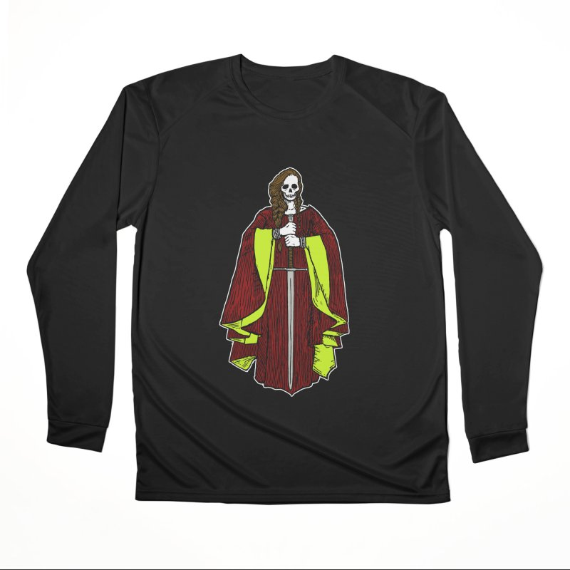 The Grim Lady Women's Performance Unisex Longsleeve T-Shirt by The Corey Press