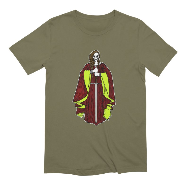 The Grim Lady Men's Extra Soft T-Shirt by The Corey Press