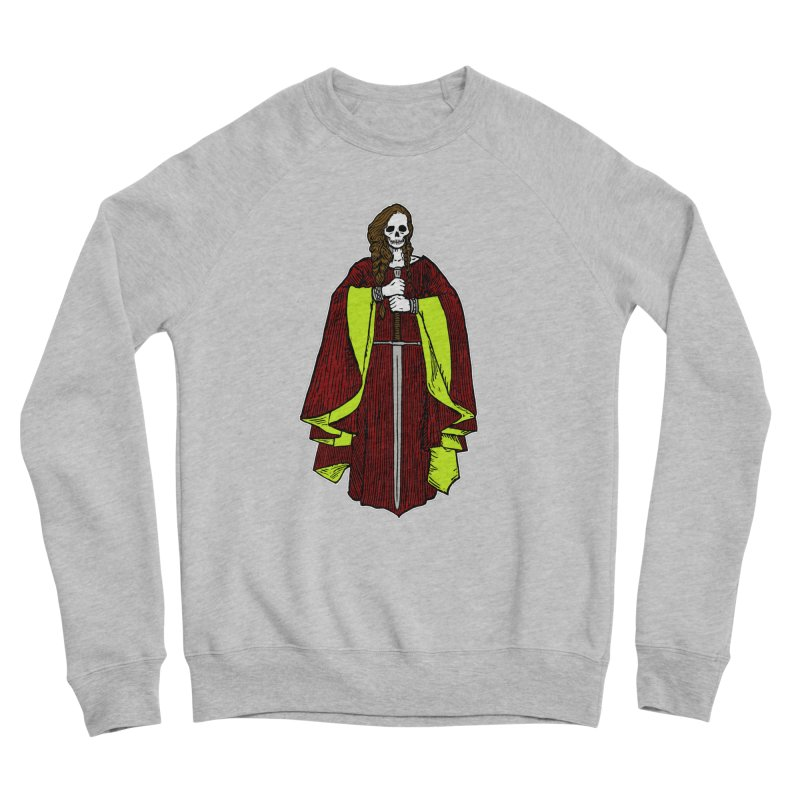 The Grim Lady Women's Sponge Fleece Sweatshirt by The Corey Press