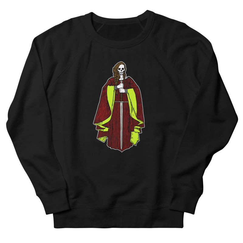 The Grim Lady Women's French Terry Sweatshirt by The Corey Press