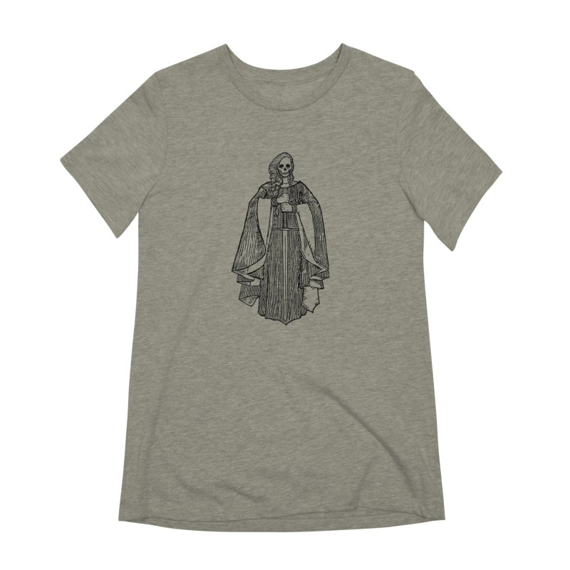 The Grim Lady Women's Extra Soft T-Shirt by The Corey Press