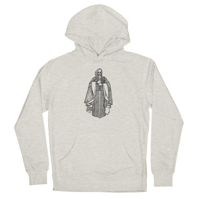 The Grim Lady Women's French Terry Pullover Hoody by The Corey Press