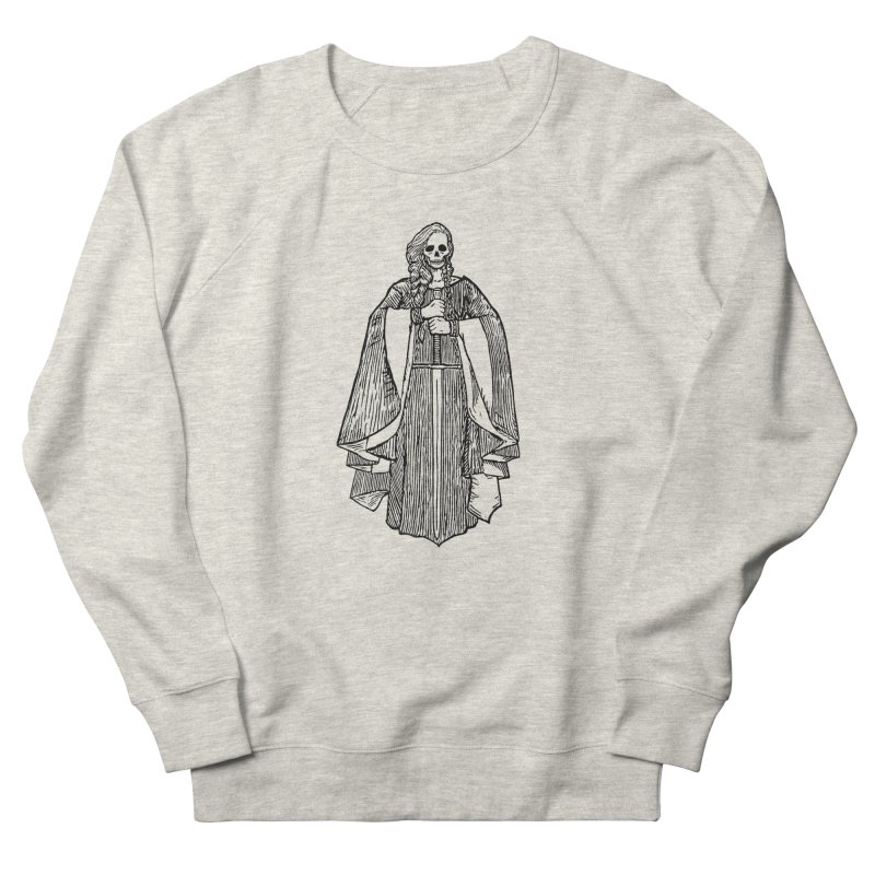 The Grim Lady Men's French Terry Sweatshirt by The Corey Press