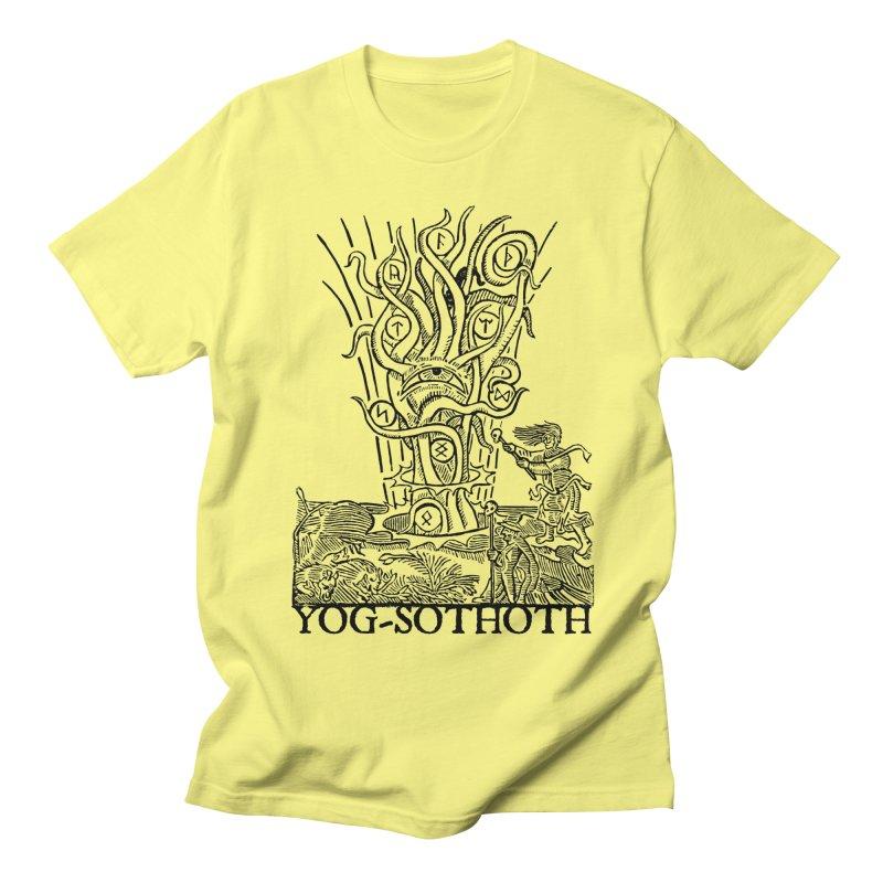Opener of the Way (Woodcut) Men's T-Shirt by The Corey Press