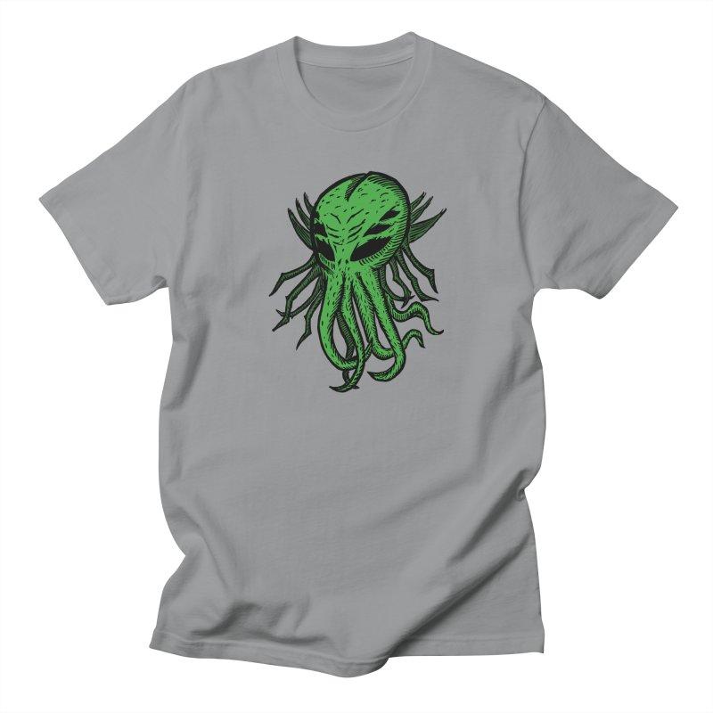 Cthulhu Icon - Green Women's Regular Unisex T-Shirt by The Corey Press