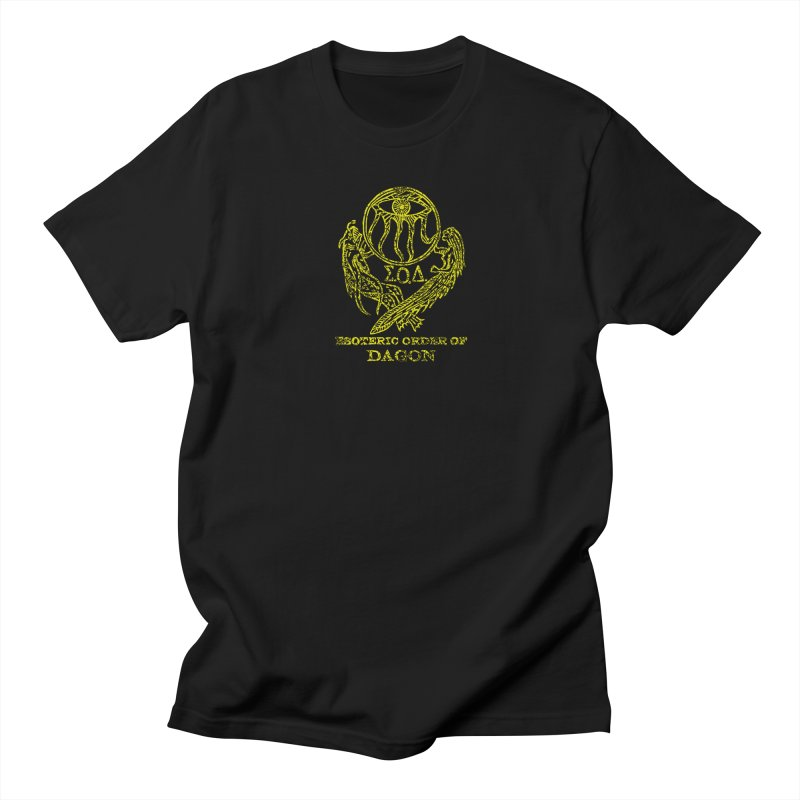Esoteric Order of Dagon (Faded Yellow) Women's Regular Unisex T-Shirt by The Corey Press