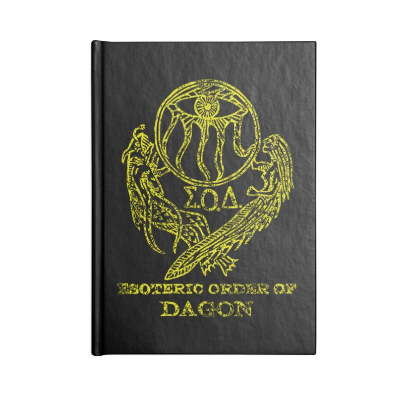 Esoteric Order of Dagon (Faded Yellow) Accessories Notebook by The Corey Press