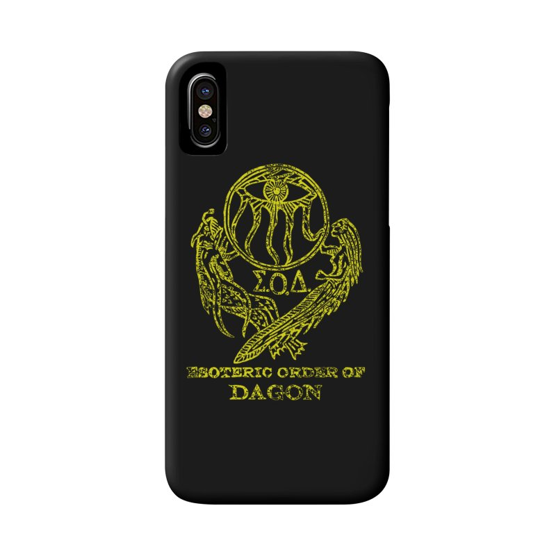 Esoteric Order of Dagon (Faded Yellow) Accessories Phone Case by The Corey Press