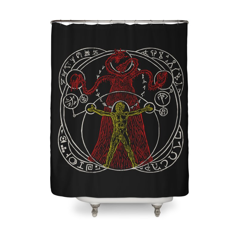 The Exchange (Color) Home Shower Curtain by The Corey Press