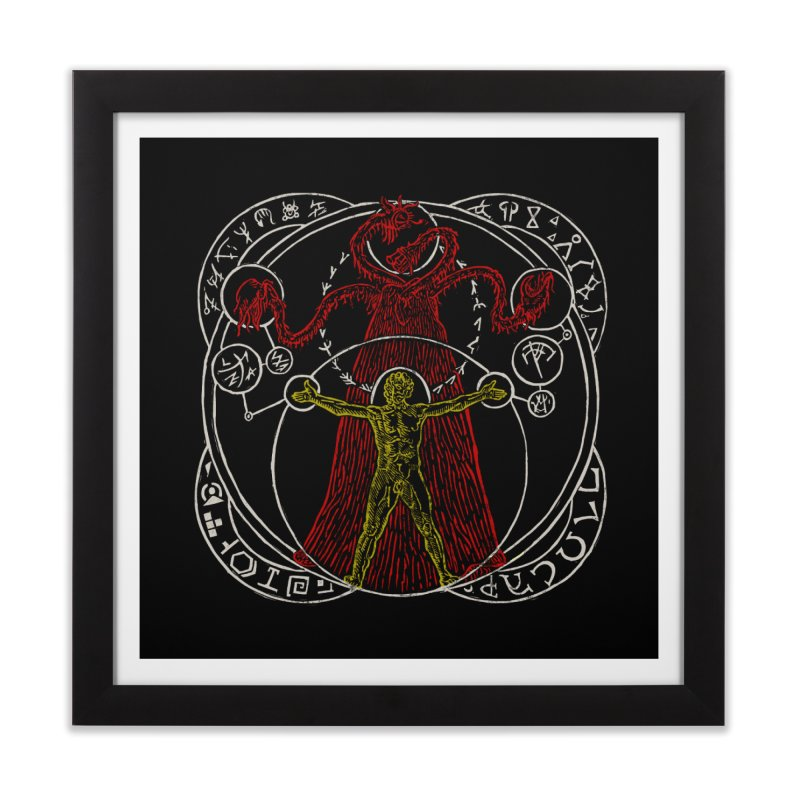 The Exchange (Color) Home Framed Fine Art Print by The Corey Press