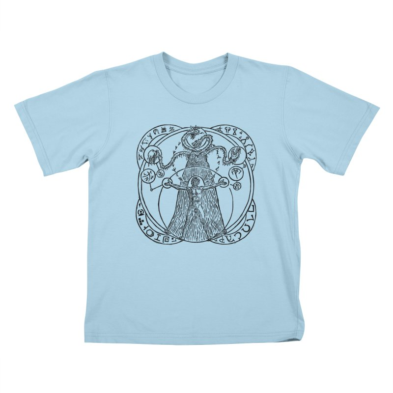 The Exchange (Black Ink) Kids T-Shirt by The Corey Press