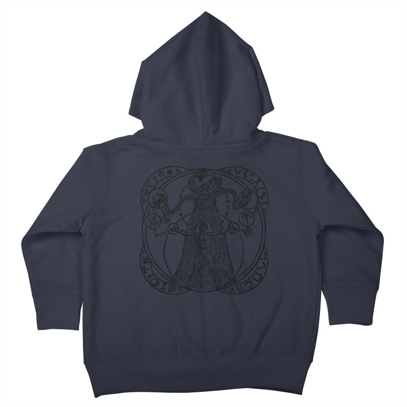 The Exchange (Black Ink) Kids Toddler Zip-Up Hoody by The Corey Press