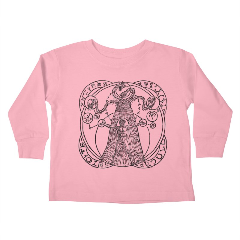 The Exchange (Black Ink) Kids Toddler Longsleeve T-Shirt by The Corey Press