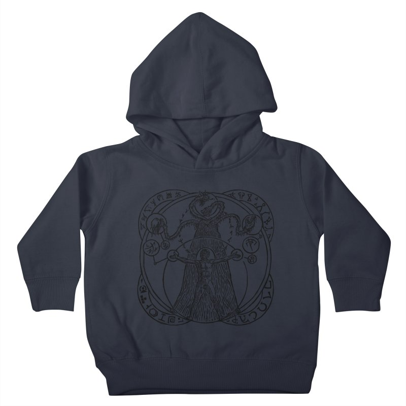 The Exchange (Black Ink) Kids Toddler Pullover Hoody by The Corey Press