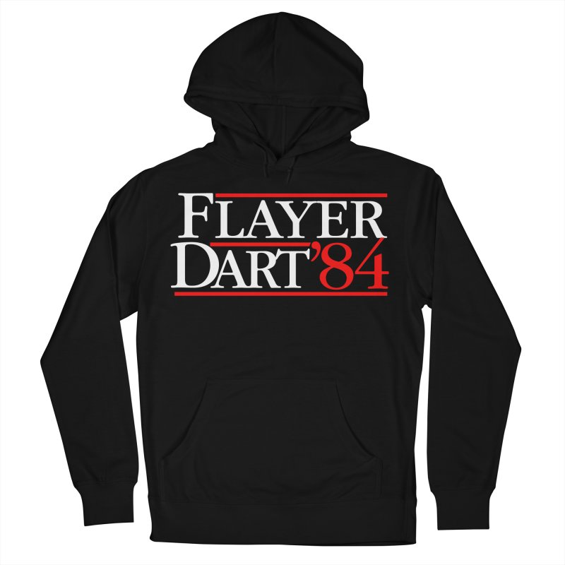Flayer / Dart '84 Women's French Terry Pullover Hoody by The Corey Press