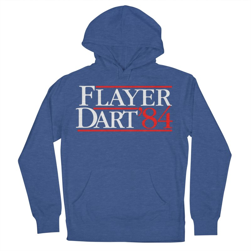 Flayer / Dart '84 Men's French Terry Pullover Hoody by The Corey Press