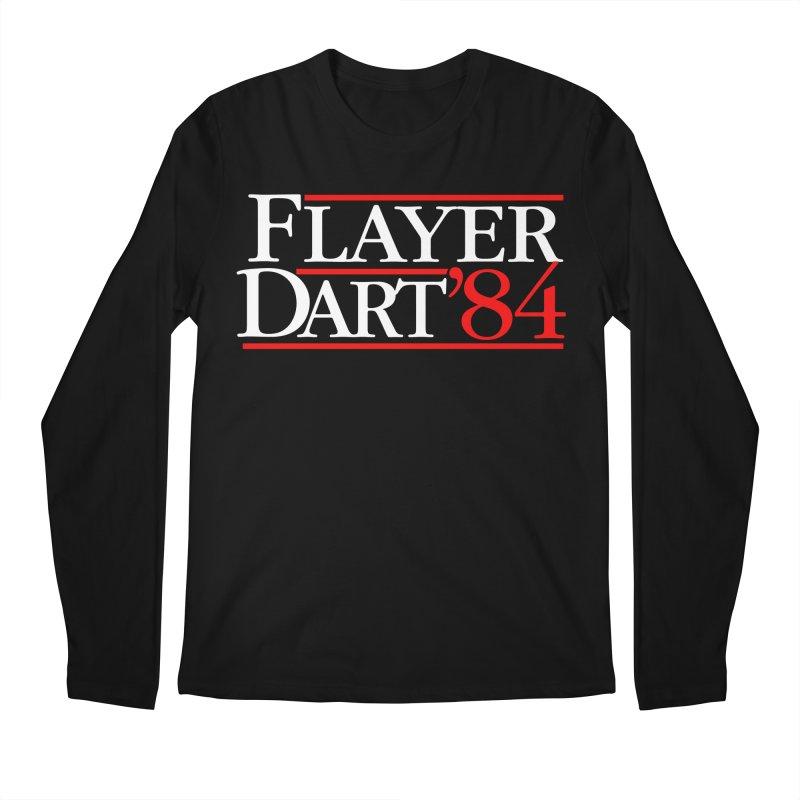 Flayer / Dart '84 Men's Regular Longsleeve T-Shirt by The Corey Press
