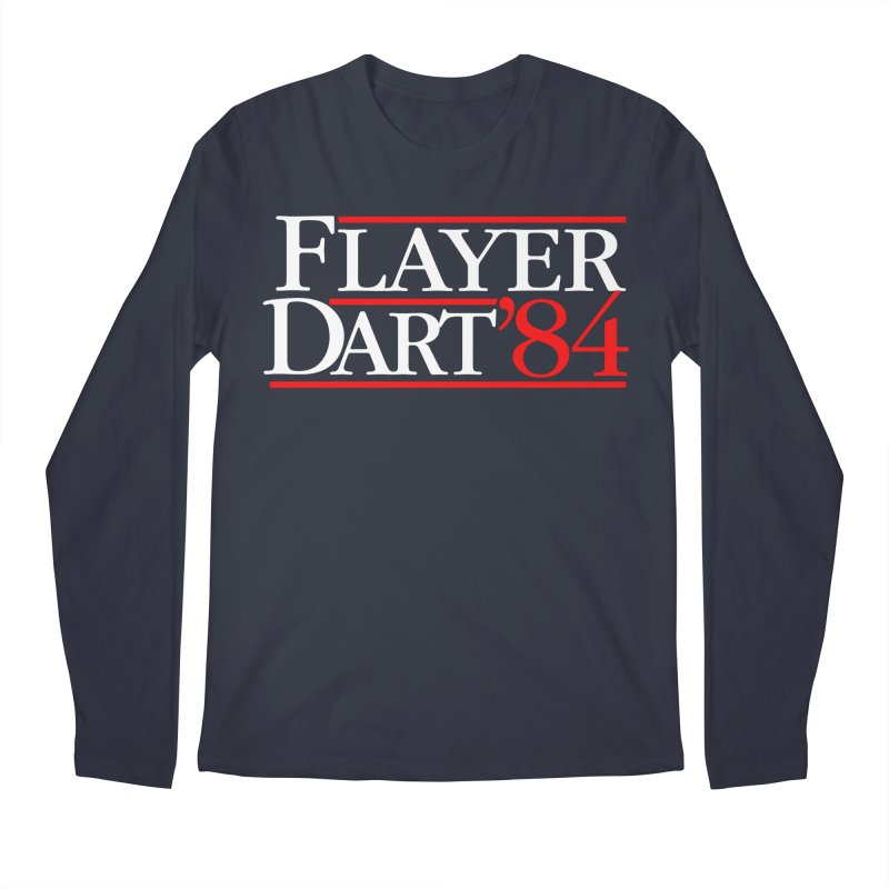 Flayer / Dart '84 Men's Regular Longsleeve T-Shirt by The Corey Press