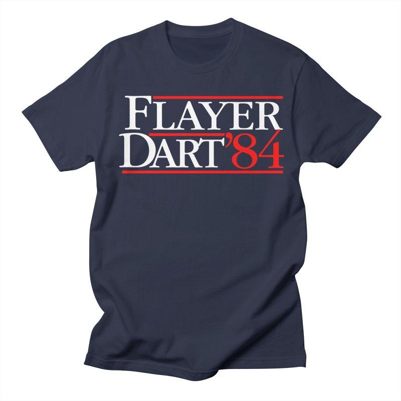 Flayer / Dart '84 in Men's T-Shirt Navy by The Corey Press