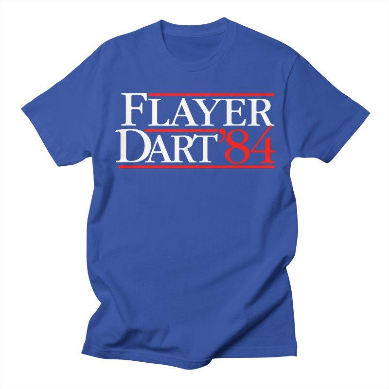 Flayer / Dart '84 Women's Regular Unisex T-Shirt by The Corey Press