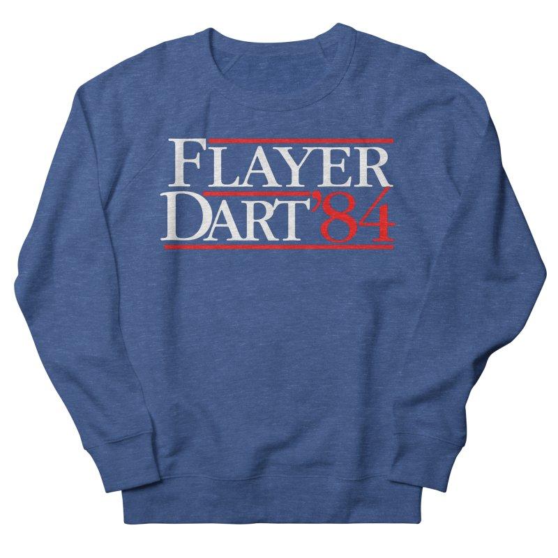 Flayer / Dart '84 Women's French Terry Sweatshirt by The Corey Press
