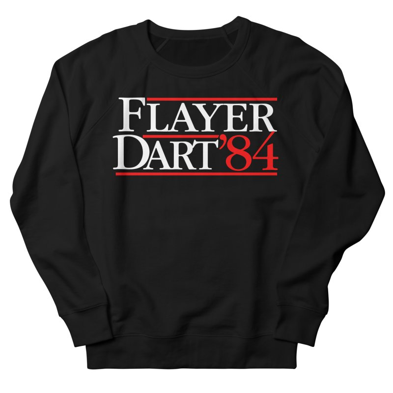 Flayer / Dart '84 Women's French Terry Sweatshirt by The Corey Press