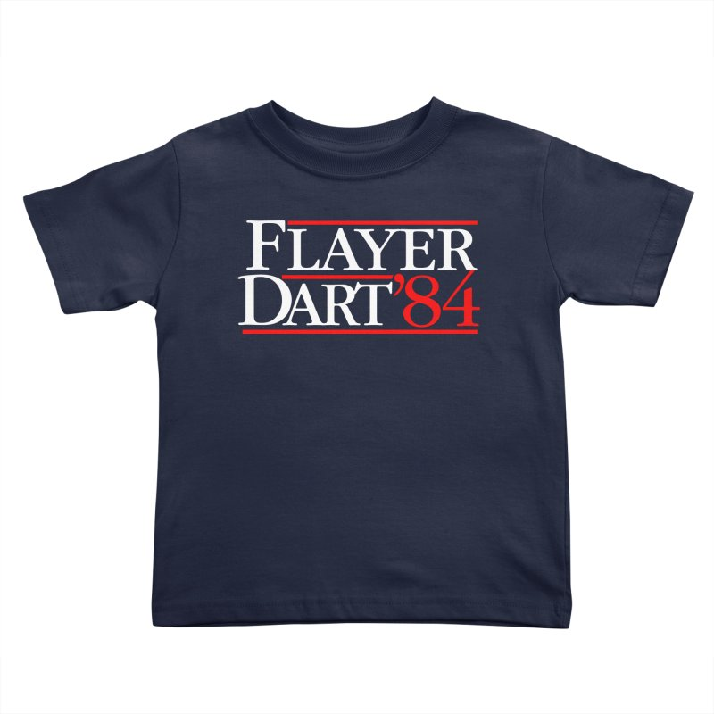 Flayer / Dart '84 Kids Toddler T-Shirt by The Corey Press