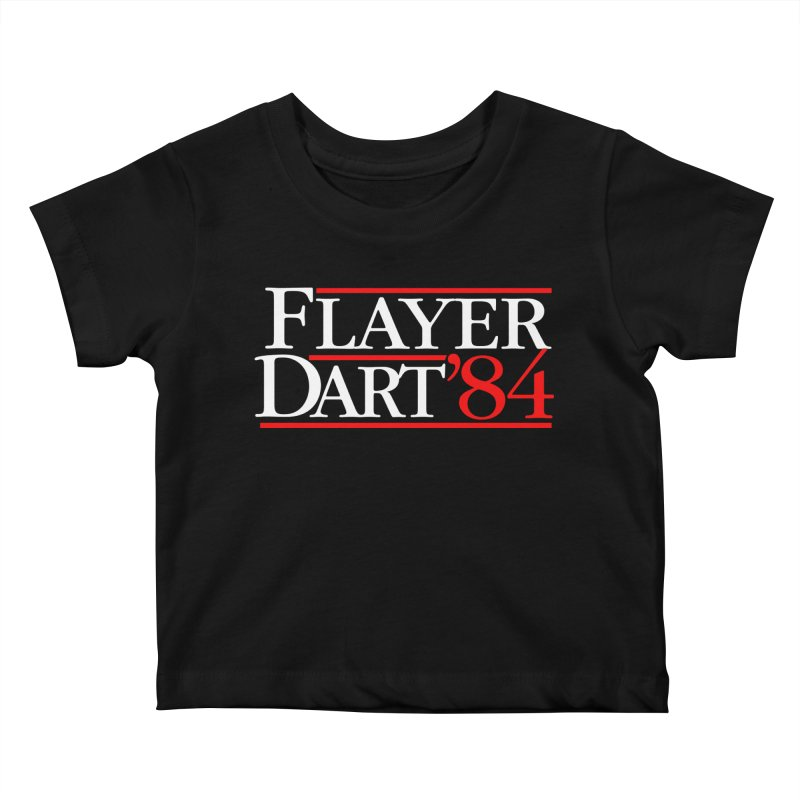 Flayer / Dart '84 Kids Baby T-Shirt by The Corey Press