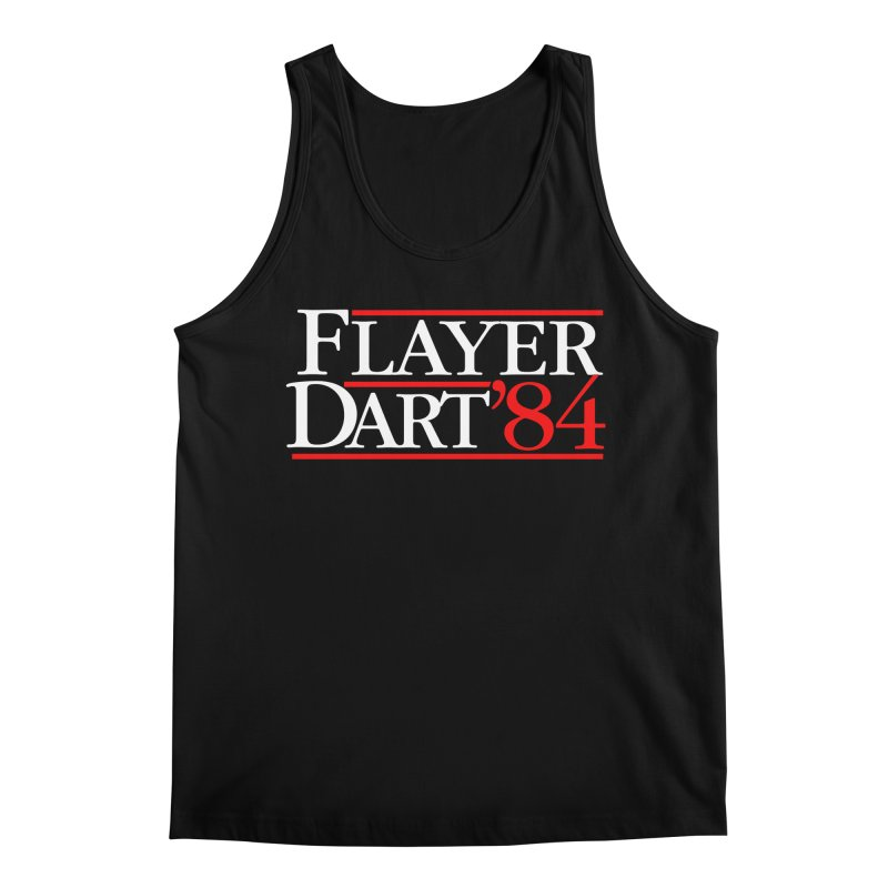 Flayer / Dart '84 Men's Regular Tank by The Corey Press