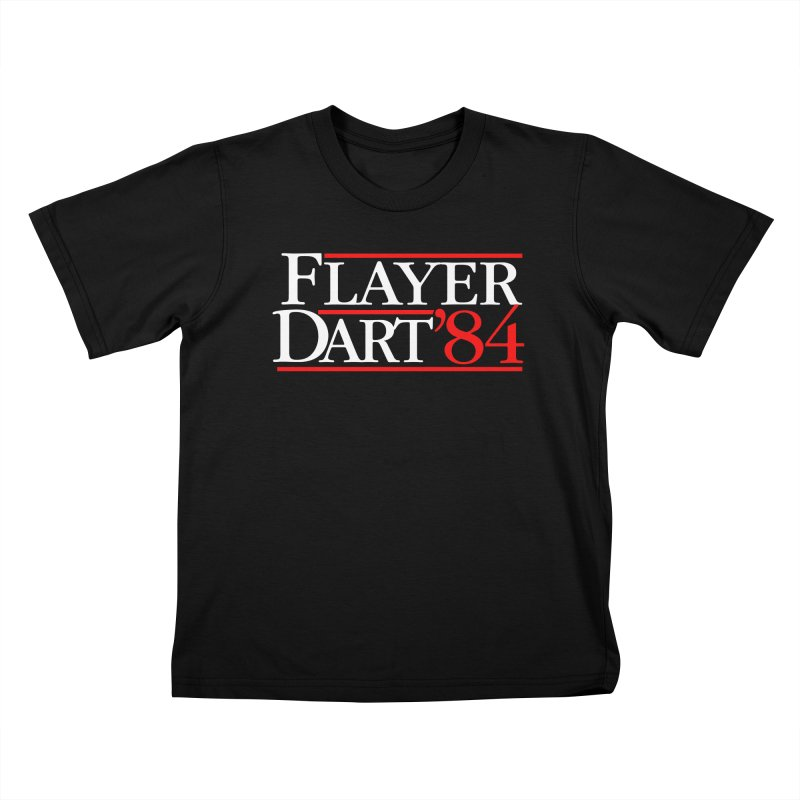 Flayer / Dart '84 Kids T-Shirt by The Corey Press