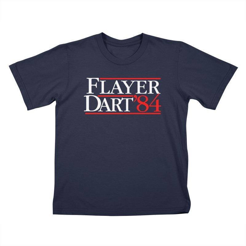 Flayer / Dart '84 Kids T-Shirt by The Corey Press